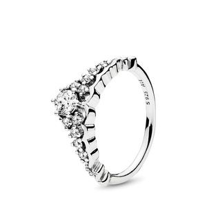 Fairy tale tiara ring by pandora